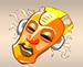 Máscara Amarela