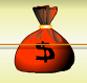 Saco de Dinheiro Vermelho
